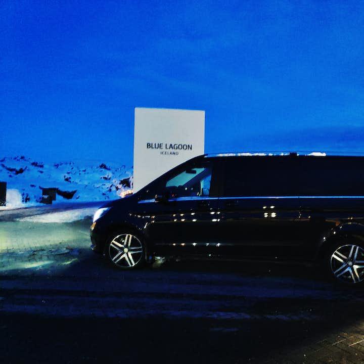 冰岛豪华机场交通|含蓝湖温泉高级门票及凯夫拉维克国际机场接送私人包车