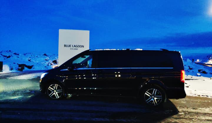 Luxurious Private Airport Transfer with Blue Lagoon Premium Admission Included