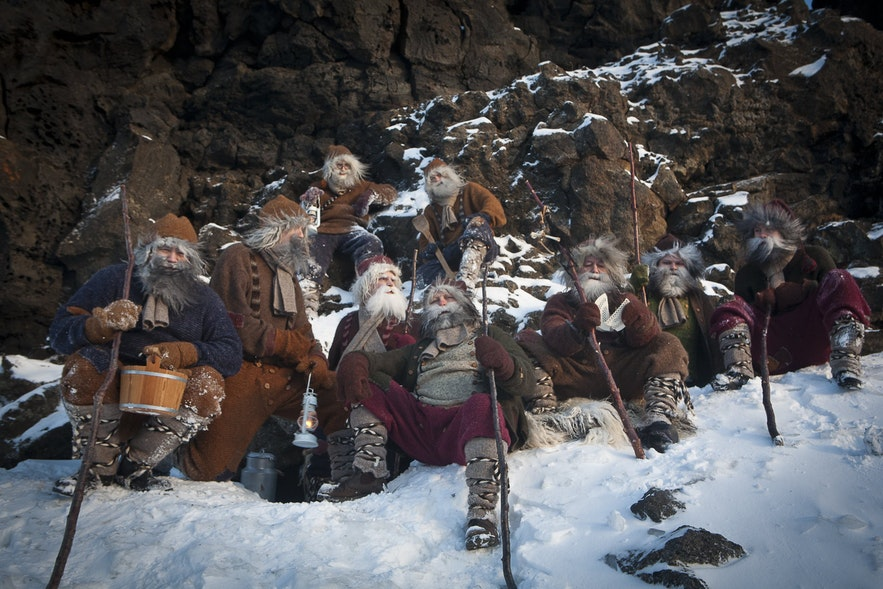 The Yule Lads as depicted through a modern lens.