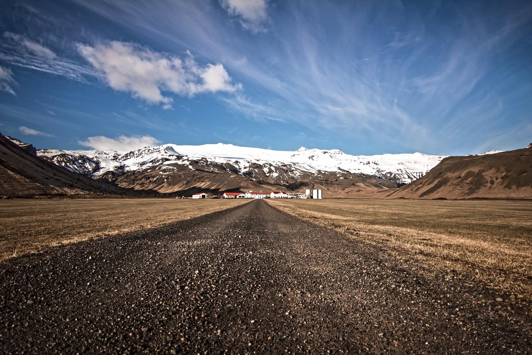 Eyjafjallajökull glacier in Iceland