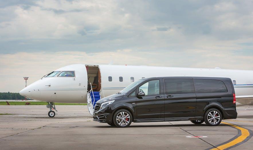 冰島機場有私人包車送機服務