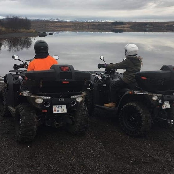 Excellent 2 Hour ATV Tour in the Mountains with Transfer from Reykjavik