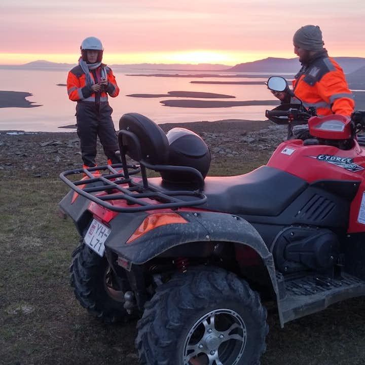 午夜阳光山地摩托旅行团|雷克雅未克出发