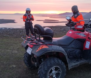 Midnight Sun ATV Tour from Reykjavik
