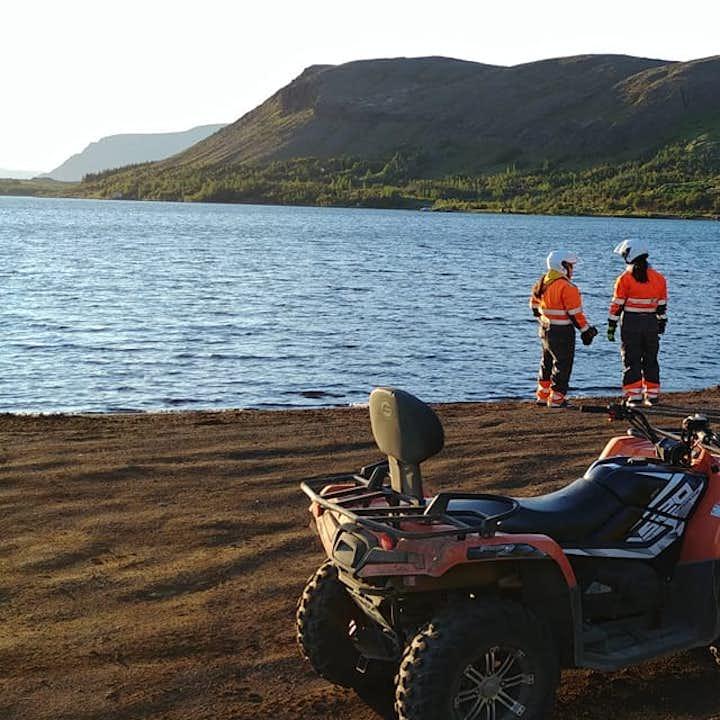 全地形越野山地摩托车一小时旅行团|雷克雅未克出发