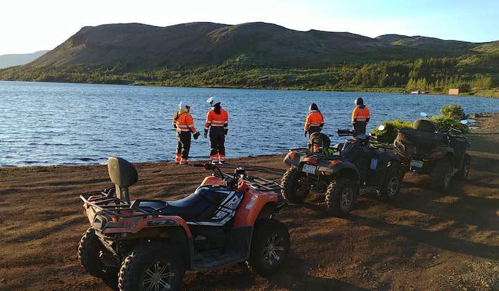Łatwa 1-godzinna wycieczka ATV po islandzkiej wsi z transferem z Reykjaviku