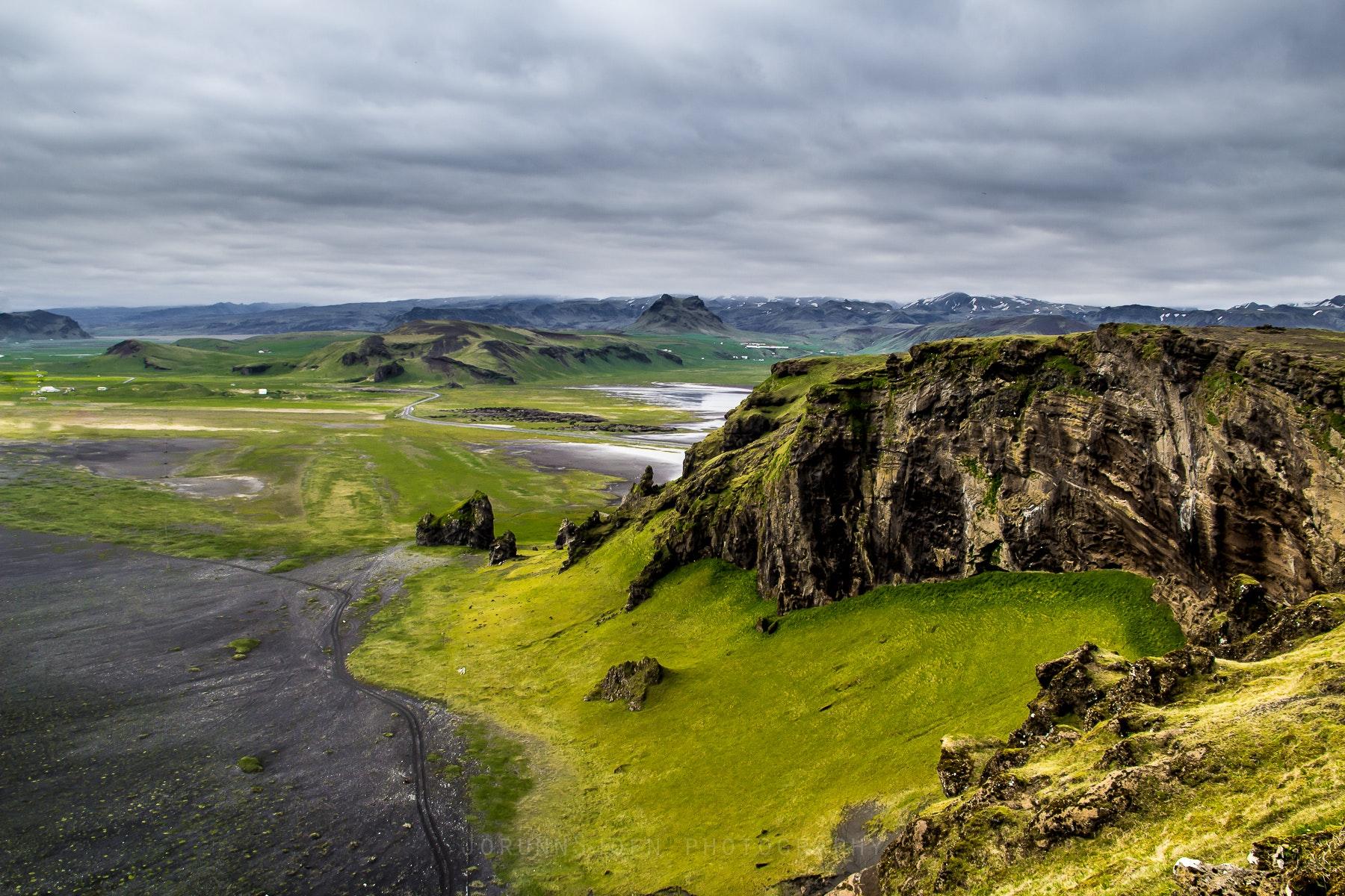 Dyrhólaey in South Iceland