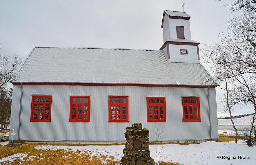 Prestbakkakirkja church South-Iceland