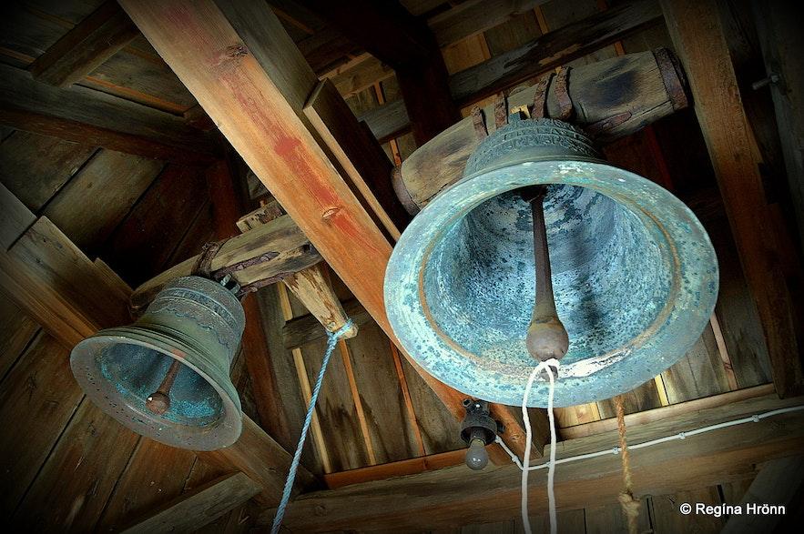 Prestbakkakirkja church South-Iceland church-bells