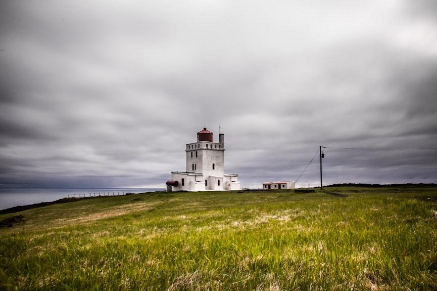 Dyrhólaey lighthouse in South Iceland