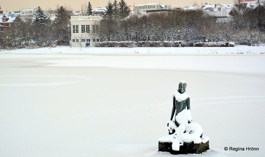 Beautiful White Snow in Reykjavík, Iceland's Capital City