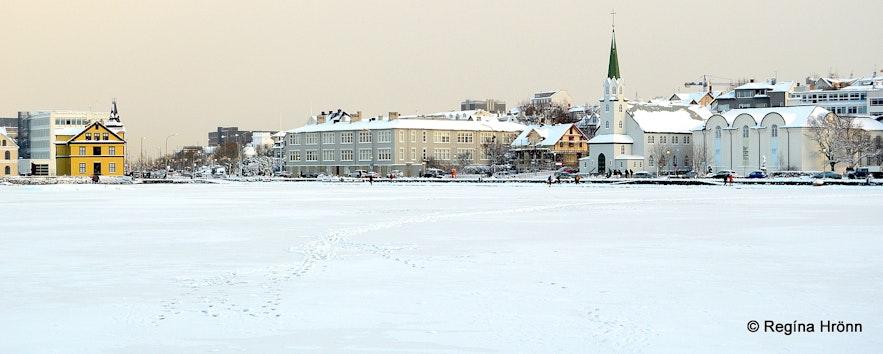 Snowy Reykjavík