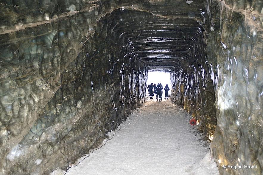 Langjökull glaicer ice cave