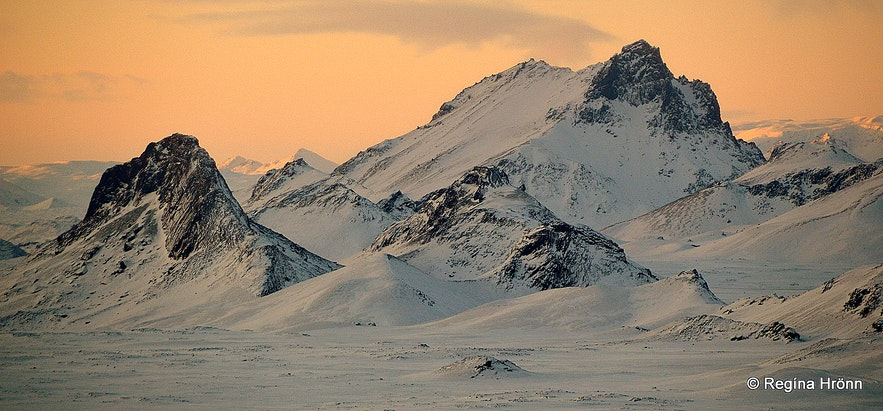 Views from the Langjökull glacier