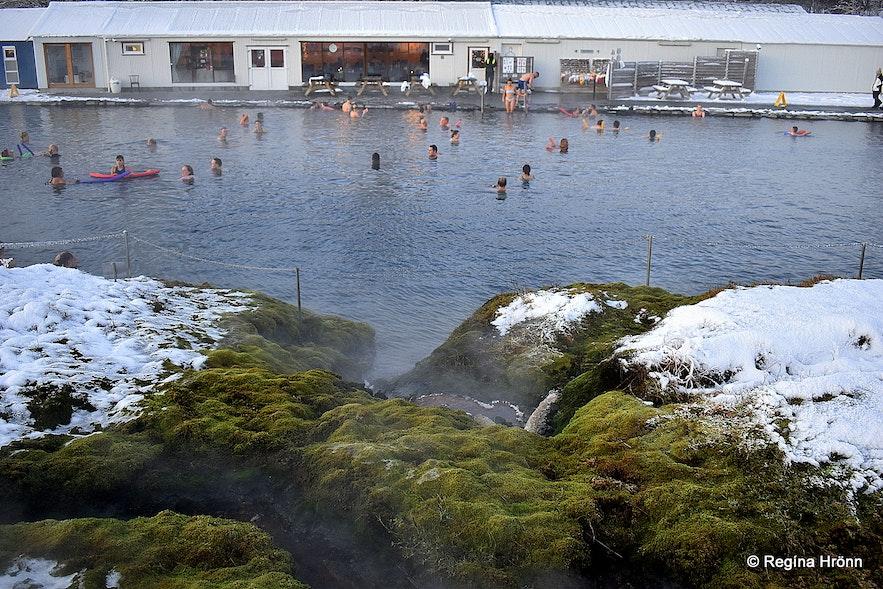 The Secret Lagoon at Flúðir South-Iceland