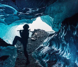 Skaftafell Blue Ice Cave Adventure & Glacier Hike