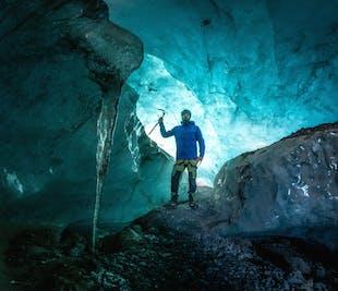 Tour de 2 días a la cueva de hielo azul y la costa sur   Glaciares, Jokulsarlon y Auroras Boreales