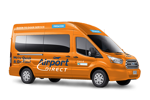 Airport Direct Premium Reykjavík to Keflavík airport uses mini buses, limiting the passenger size to 8 people
