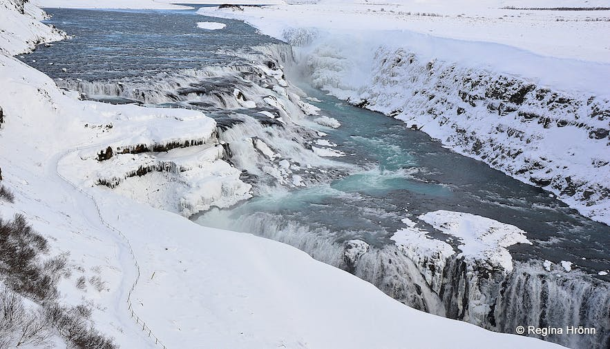 A Fantastic Visit to the Ice Cave in Langjökull Glacier - Snowmobiling and a Dip in the Secret Lagoon