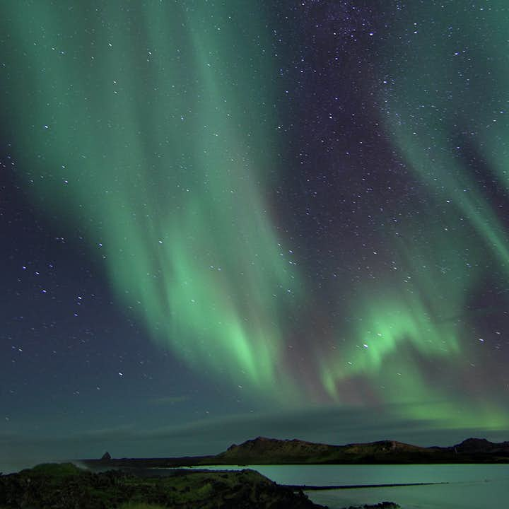 A display of northern lights