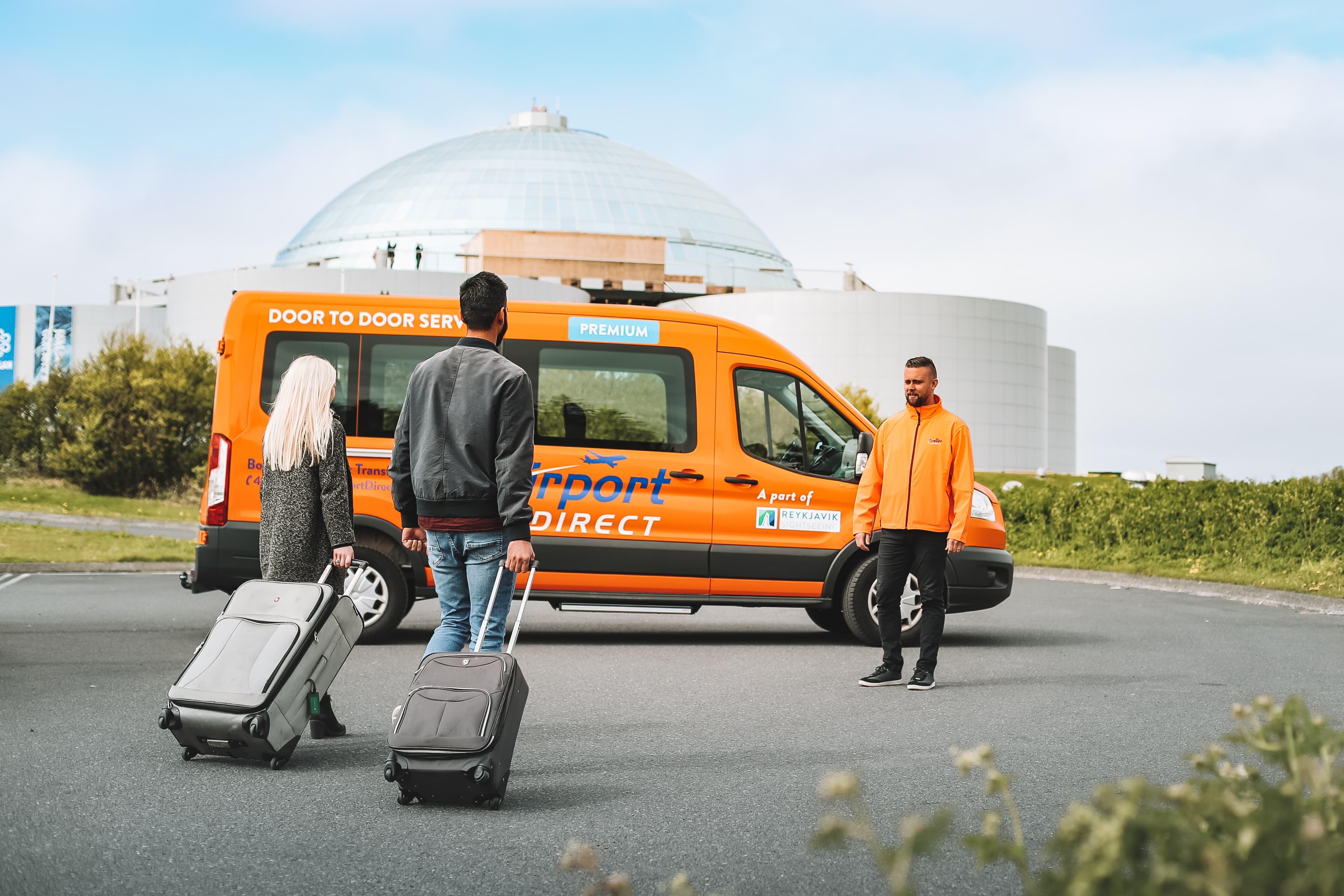 冰岛国际机场直达首都市区高端专线|小巴交通