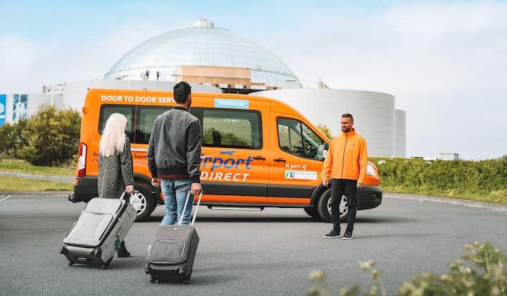冰岛国际机场直达首都市区高端专线 小巴交通