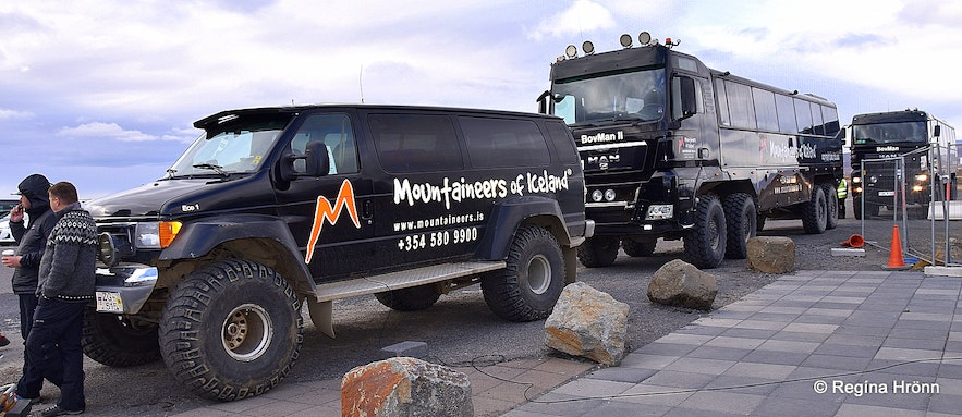 The Mountaineers of Iceland trucks