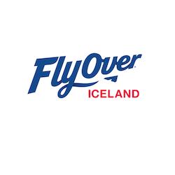FlyOver Iceland logo