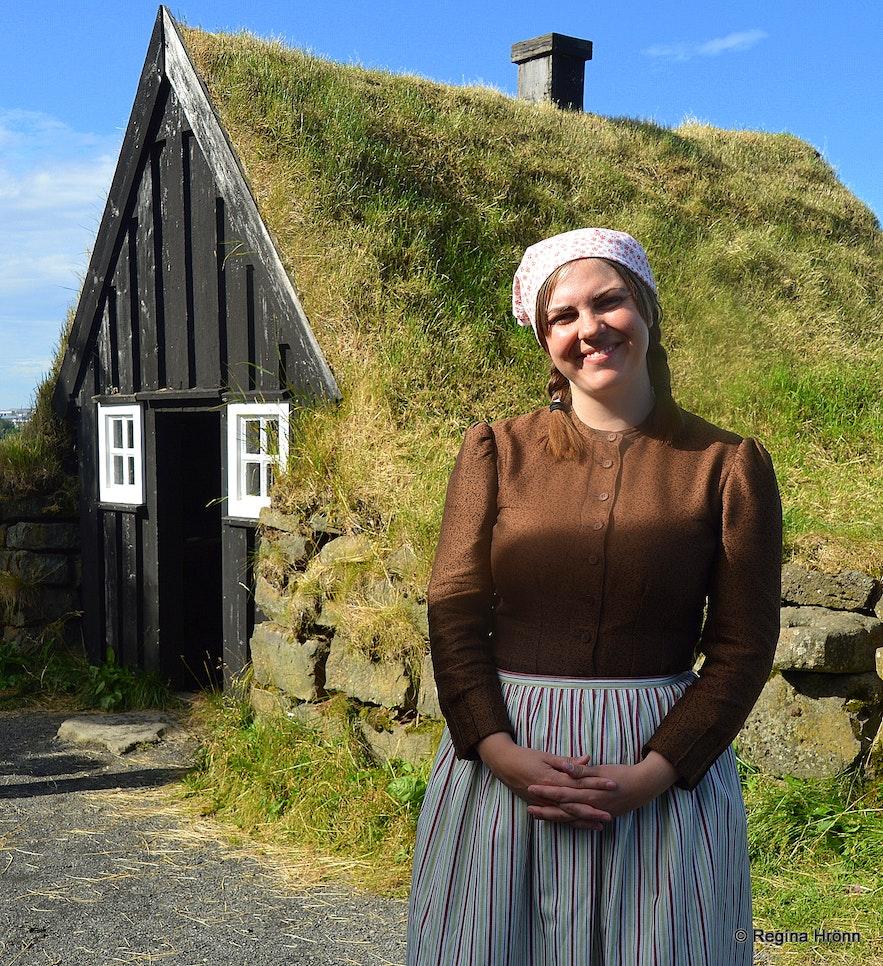Árbæjarsafn folk museum in Reykjavík