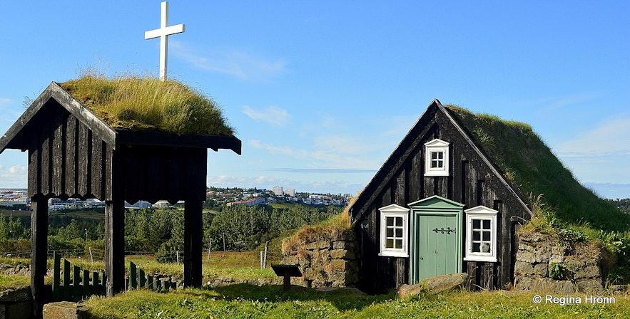 Árbæjarsafn folk museum Reykjavík