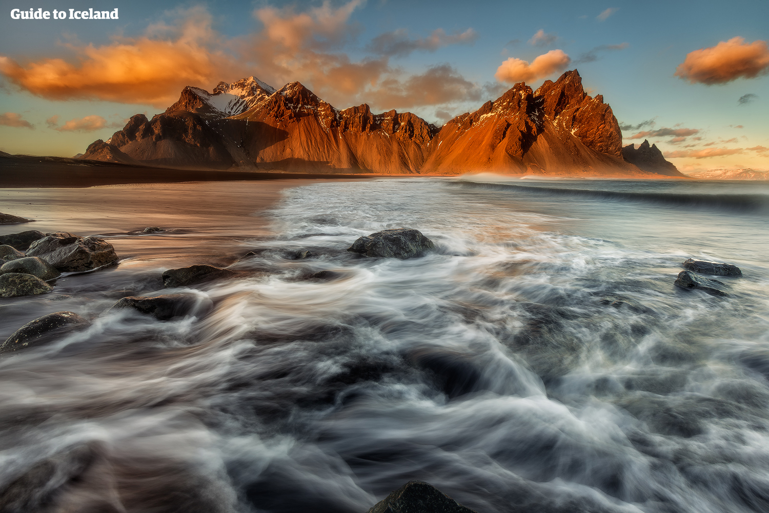 The mesmerising Vestrahorn mountain is a worthy detour outside the town of Höfn.