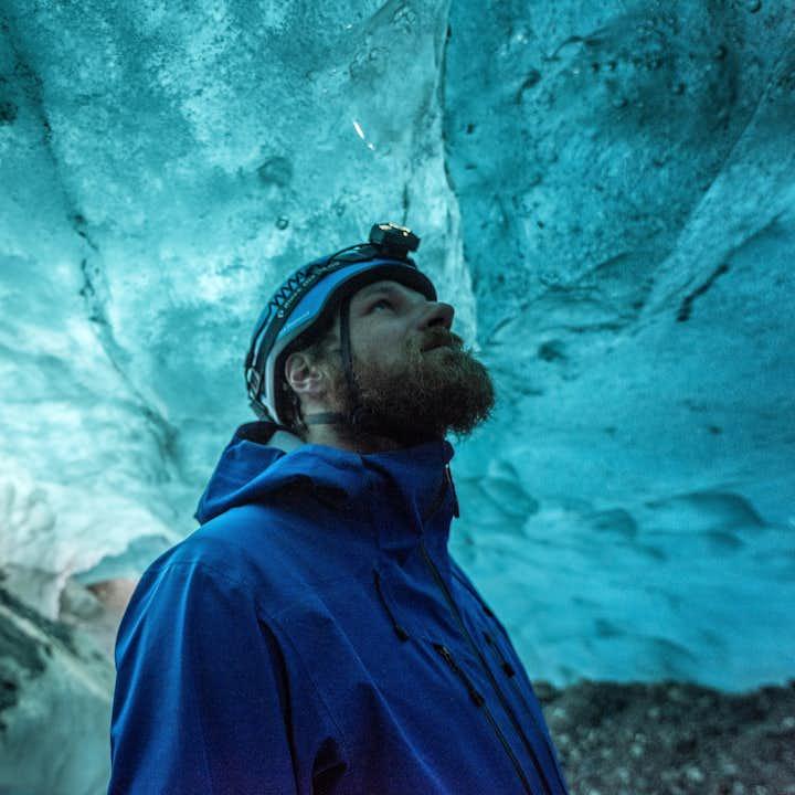 Голубая пещера в Скафтафетль   Тур с восхождением на ледник