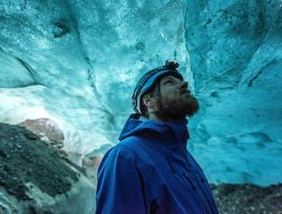 Skaftafell Blue Ice Cave Adventure & Glacier Hike width=