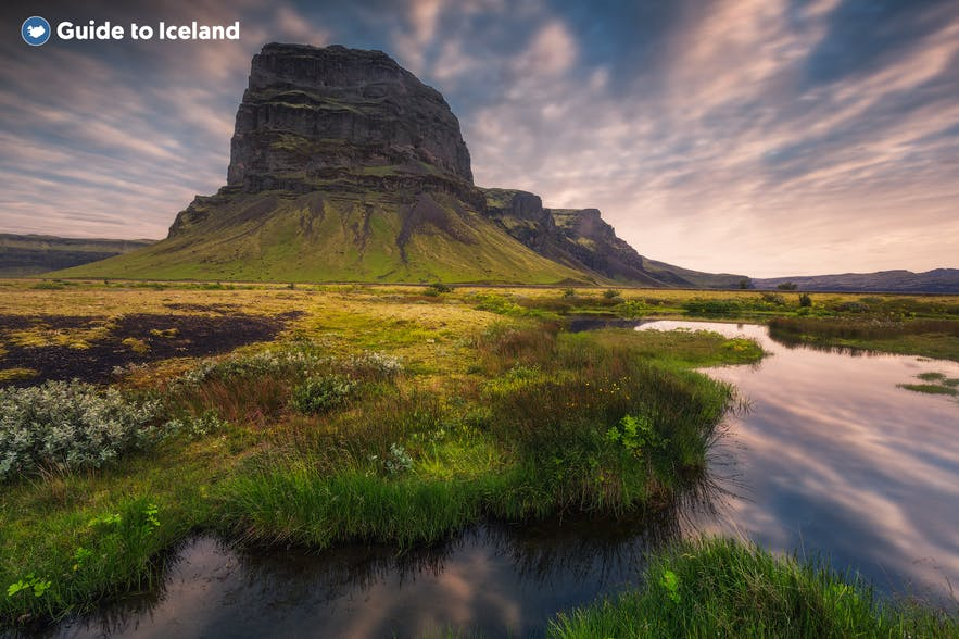 冰島南岸 Lómagnúpur山