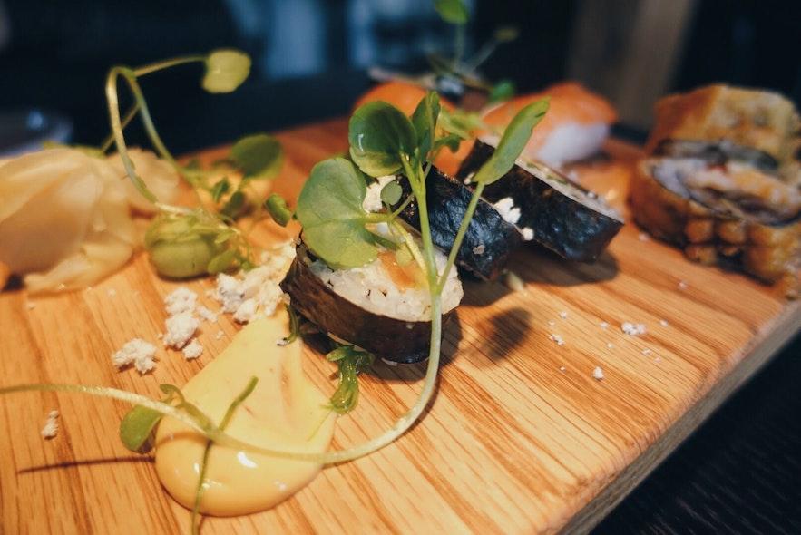 Sushischotel in restaurant Fish Company
