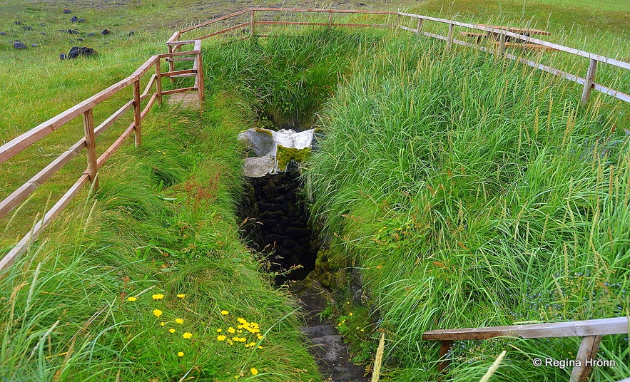 Ískrabrunnur - the Well of the Irish Snæfellsnes