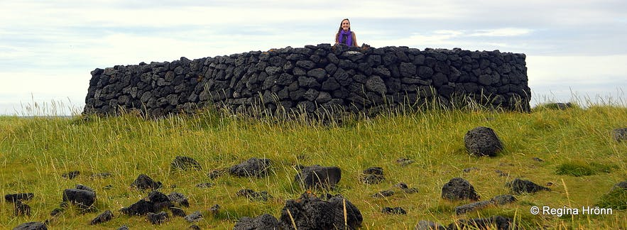 Regína in the Shelter of the Irish Snæfellsnes