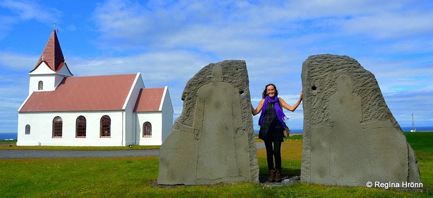 Regína at Ingjaldshóll Snæfellsnes peninsula