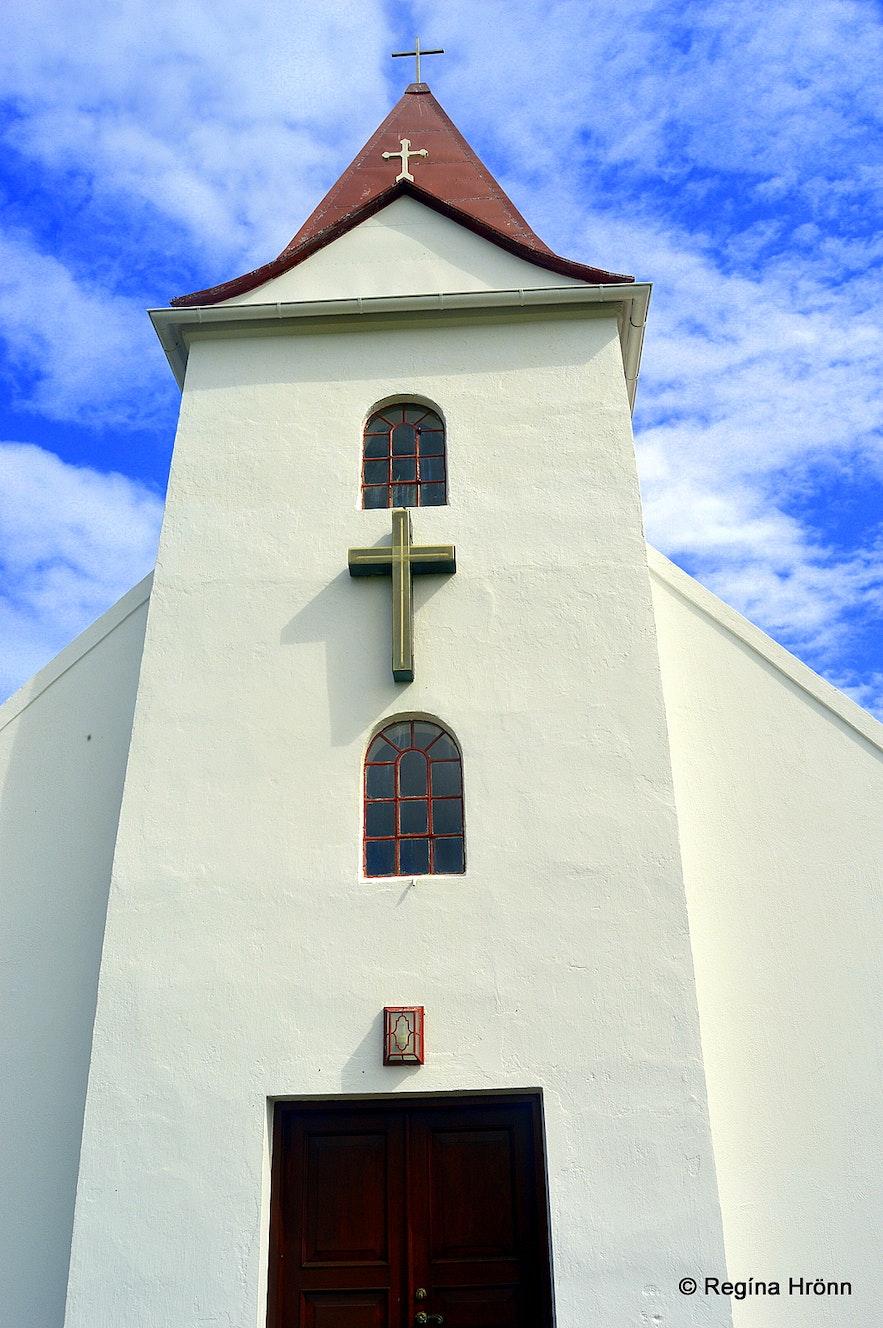 Ingjaldshólskirkja church Snæfellsnes peninsula