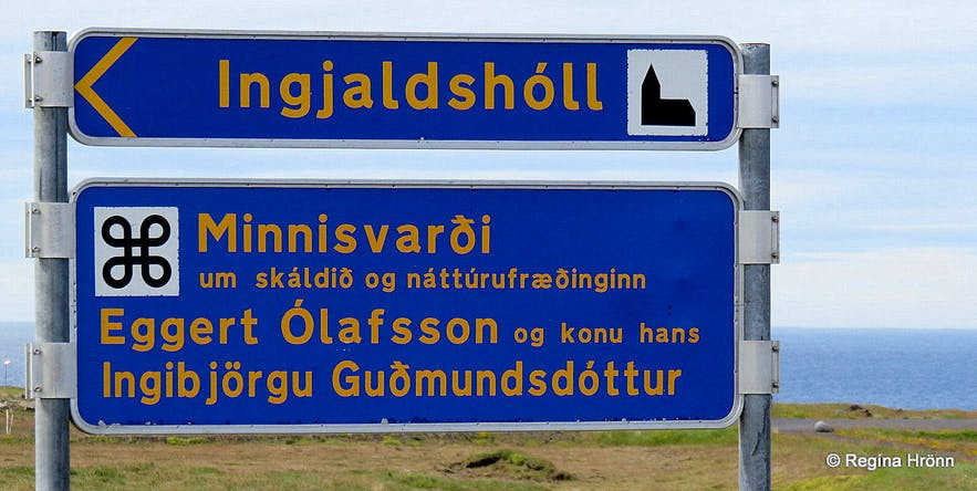 The Historical Ingjaldshóll on the Snæfellsnes Peninsula in West-Iceland