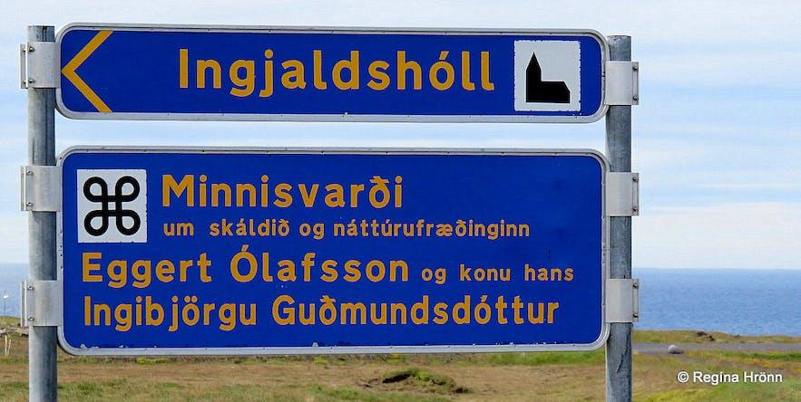 The Ingjaldshóll sign