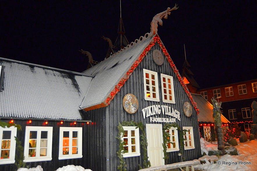 A lovely Christmas Buffet at Fjörukráin Viking Restaurant in Iceland