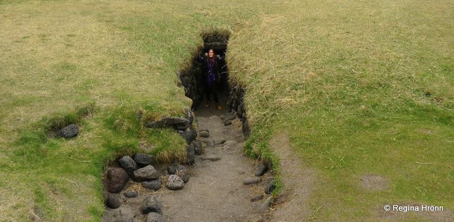 The well Fálki at Öndverðarnes