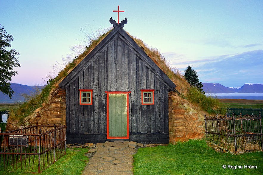 Víðimýrarkirkja Turf Church in North-Iceland - is it the most beautiful of them all?
