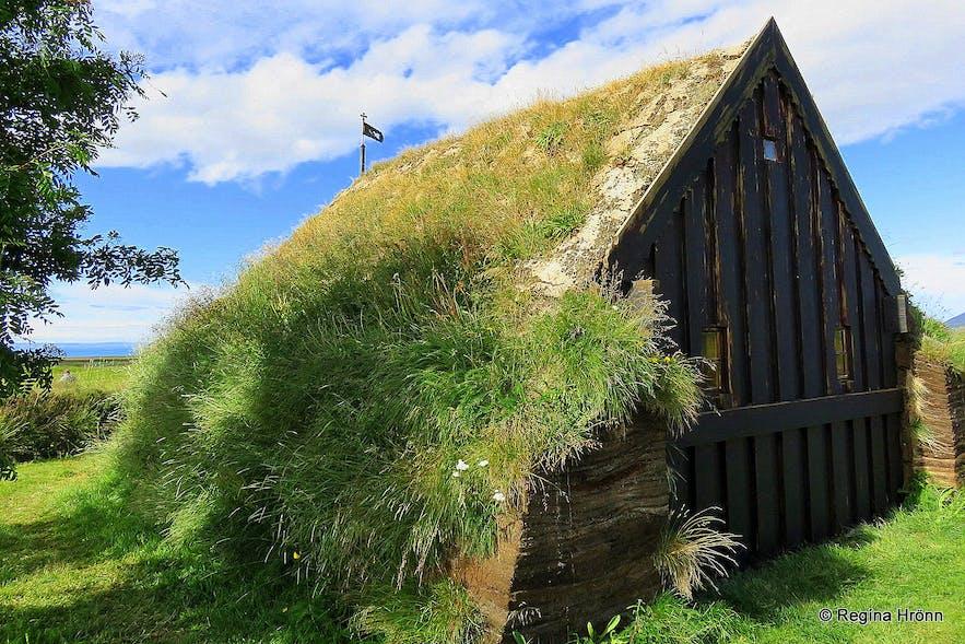 Grafarkirkja Turf Church in North-Iceland - the Oldest Turf Church in Iceland