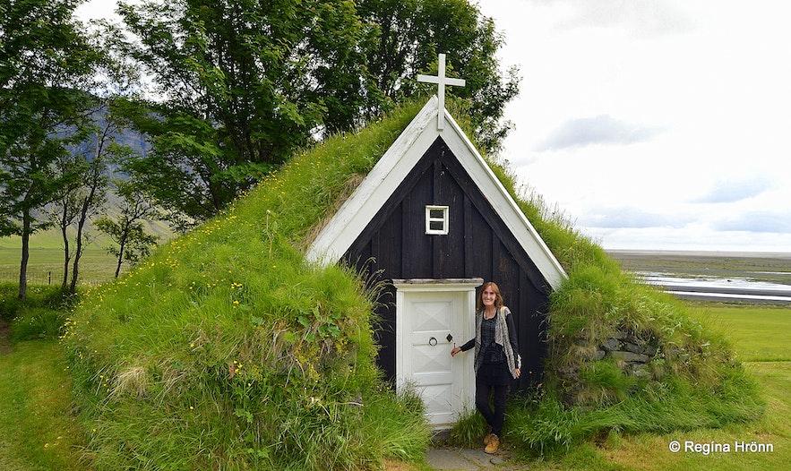Núpsstaðakirkja turf church