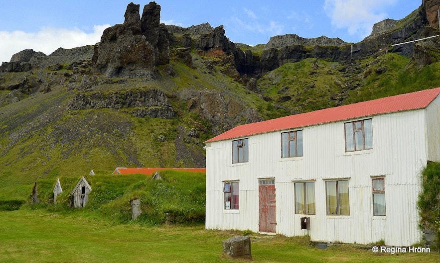 Núpsstaður farm South-Iceland