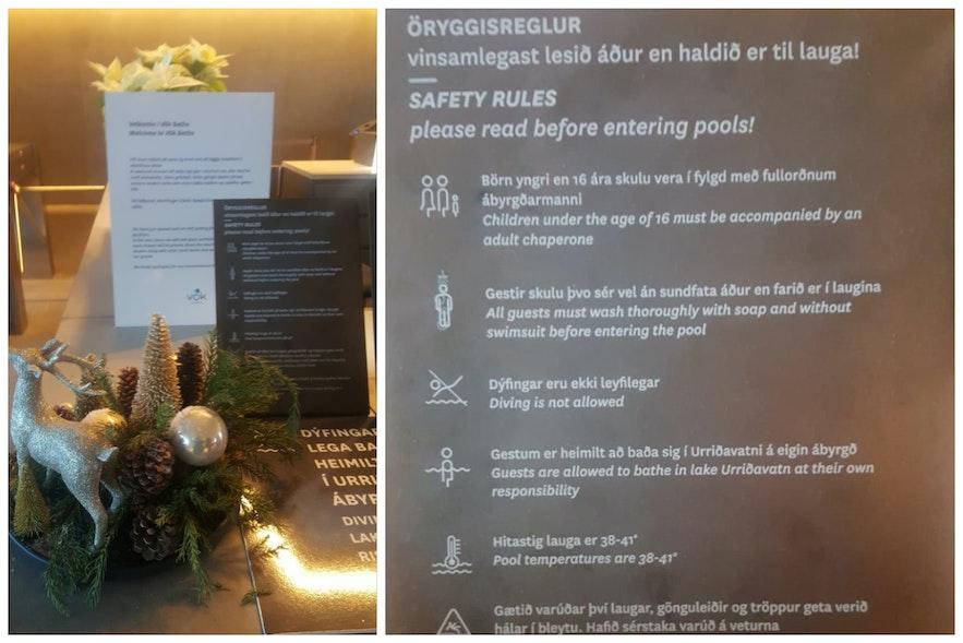 Правила геотермальных купален «Вёк»