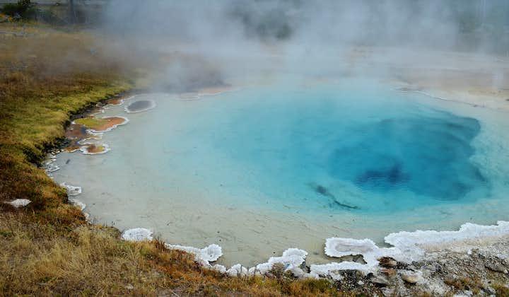 宿泊付き周遊バスツアー3日間 ゴールデンサークル、南海岸、ヨークルスアゥルロゥン氷河湖
