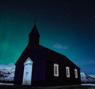 4-tägige geführte Islandreise   Blaue Eishöhle, Südküste & Snaefellsnes